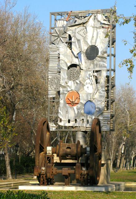 Some interesting artwork in the Parc de la Ciutadella