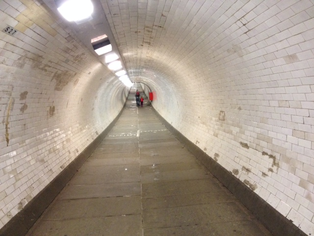 Tunnelling under the Thames, en route to Greenwich