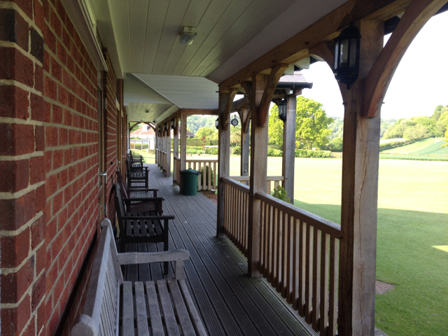 The Hawkely Cricket Pavilion and grounds - the ultimate setting .