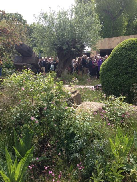 Best Show Garden - The Chatsworth Garden