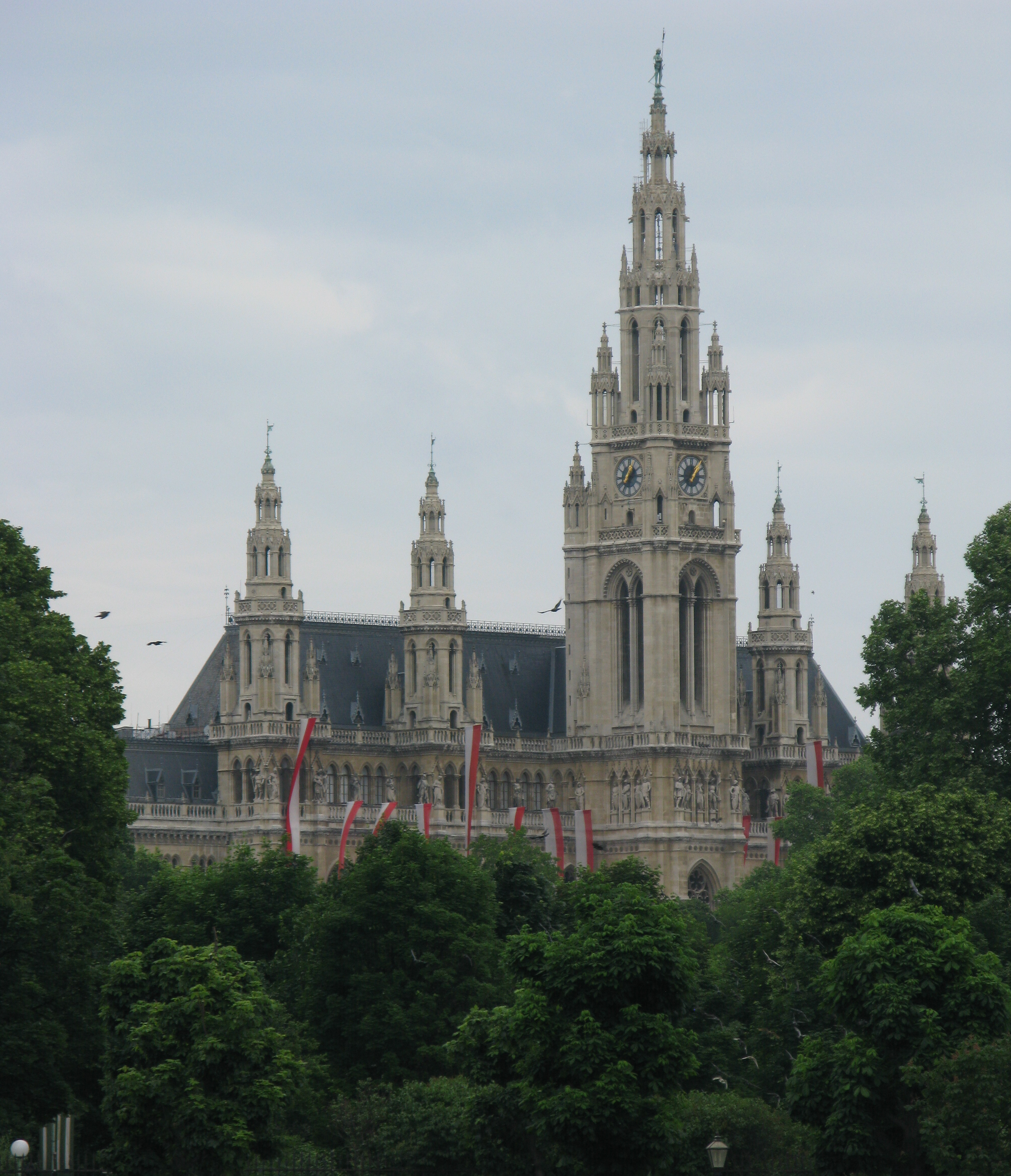 The Rathaus - The Town Hall