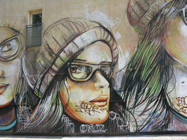 So much wonderful street art