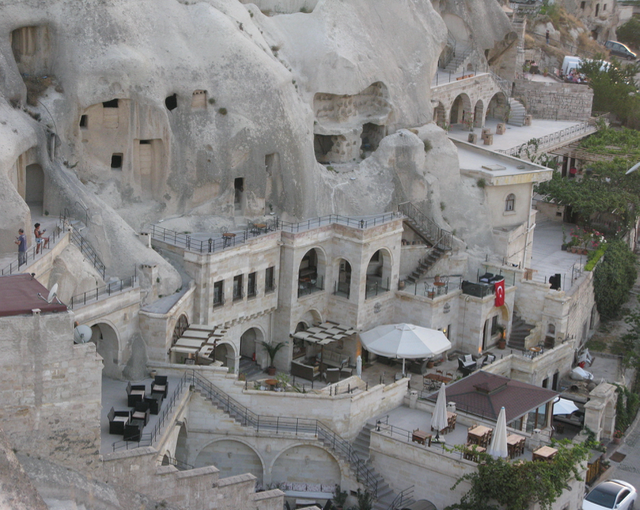 Nowadays its Cave Hotels they're creating
