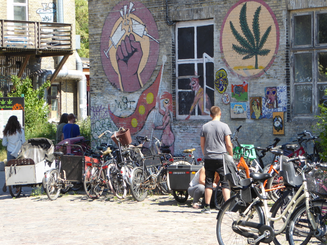 Life and whats on offer in Christiania