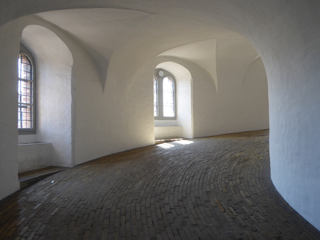 An easy walk up the Round Tower