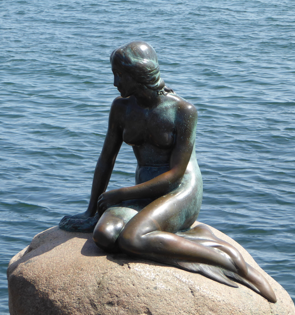You can't come to Copenhagen and not make the pilgrimage to see the Little Mermaid