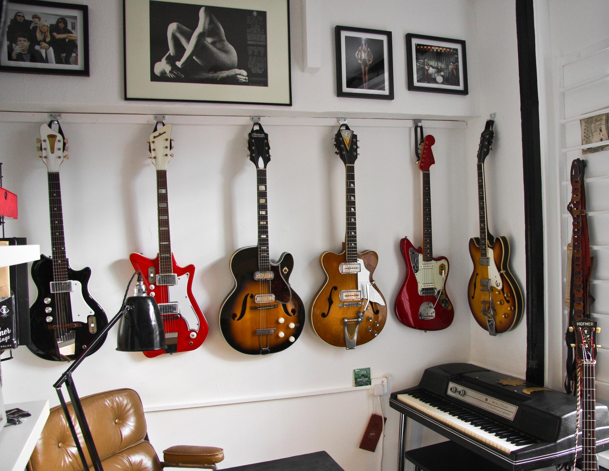 Guncotton Guitars Showroom