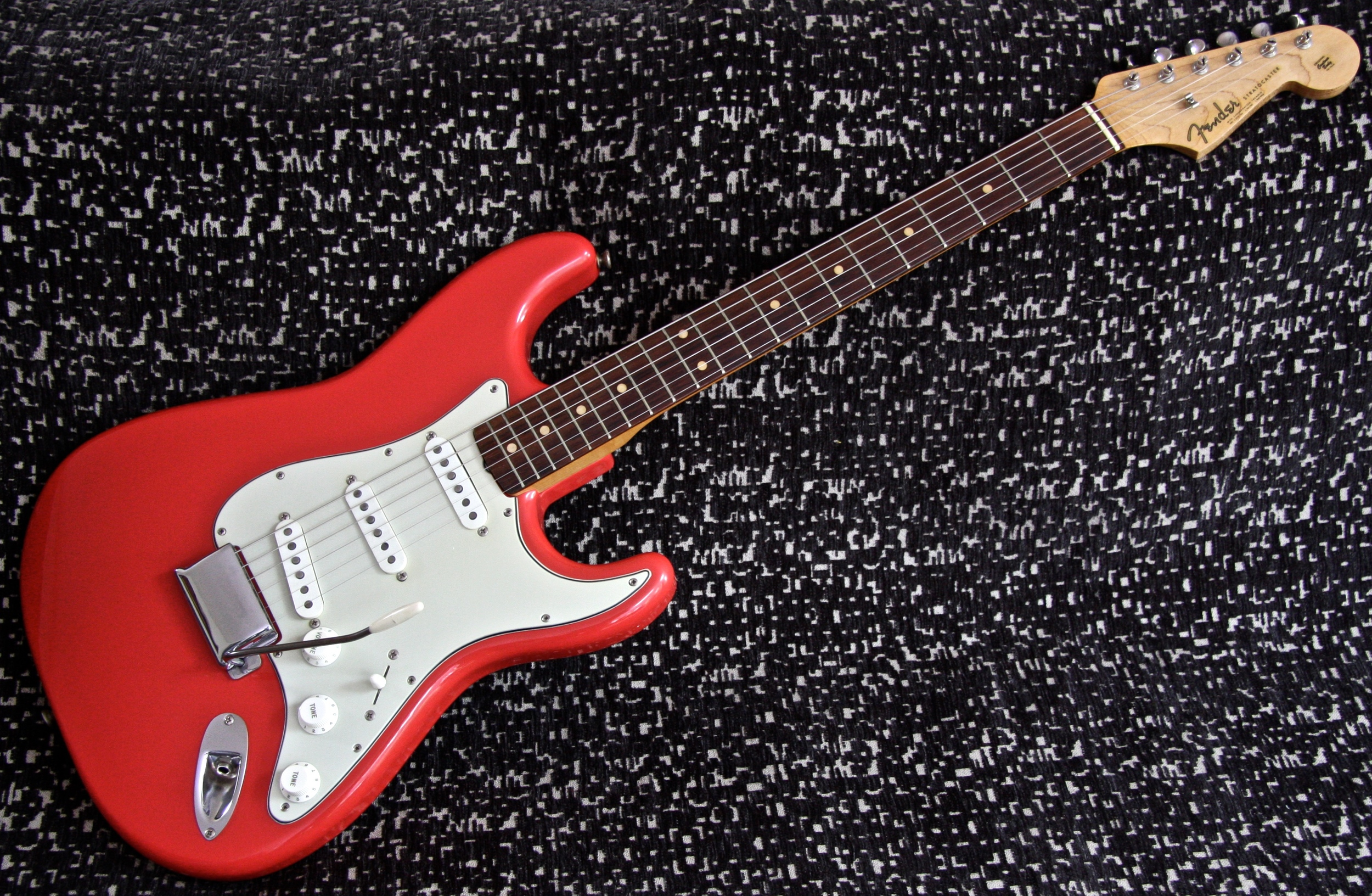 1962 Fender Stratocaster - Fiesta Red
