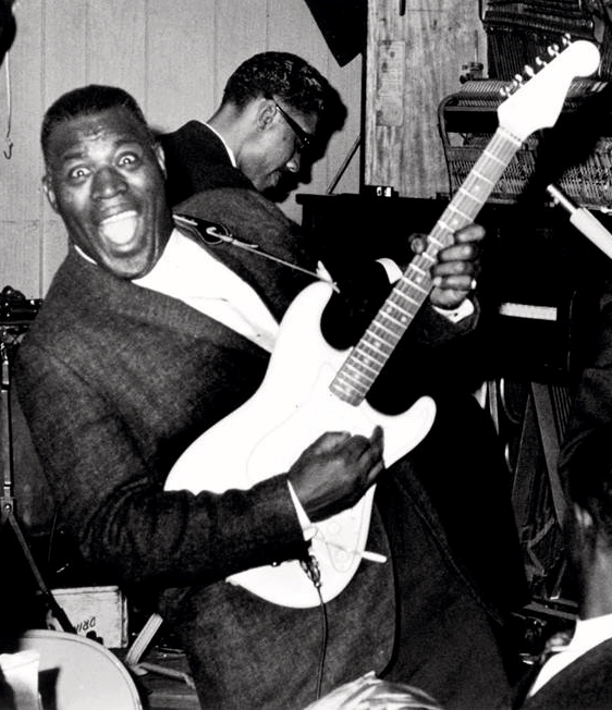 The great Howlin' Wolf in the early 60s.