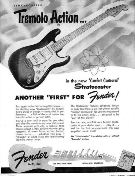 1954 Fender Ad.