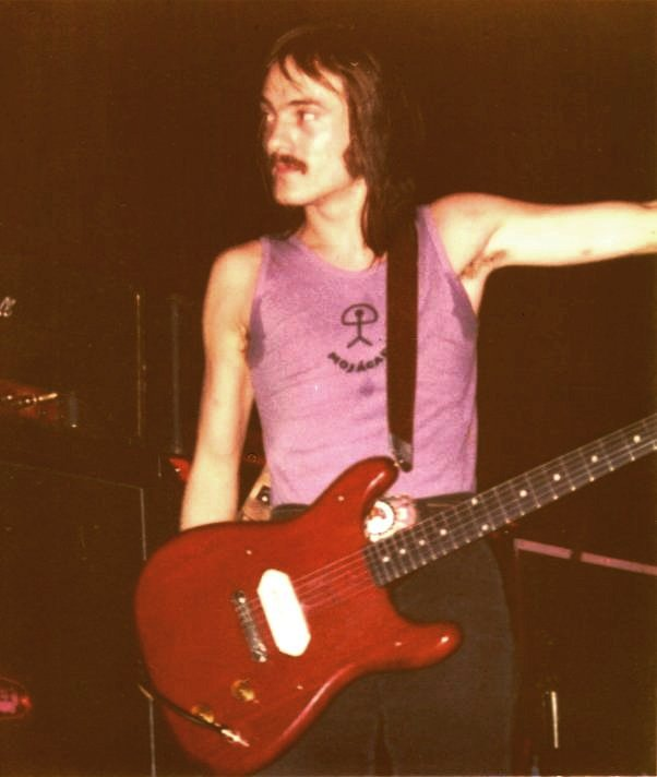 Steve Marriott with his Coronet in 1972