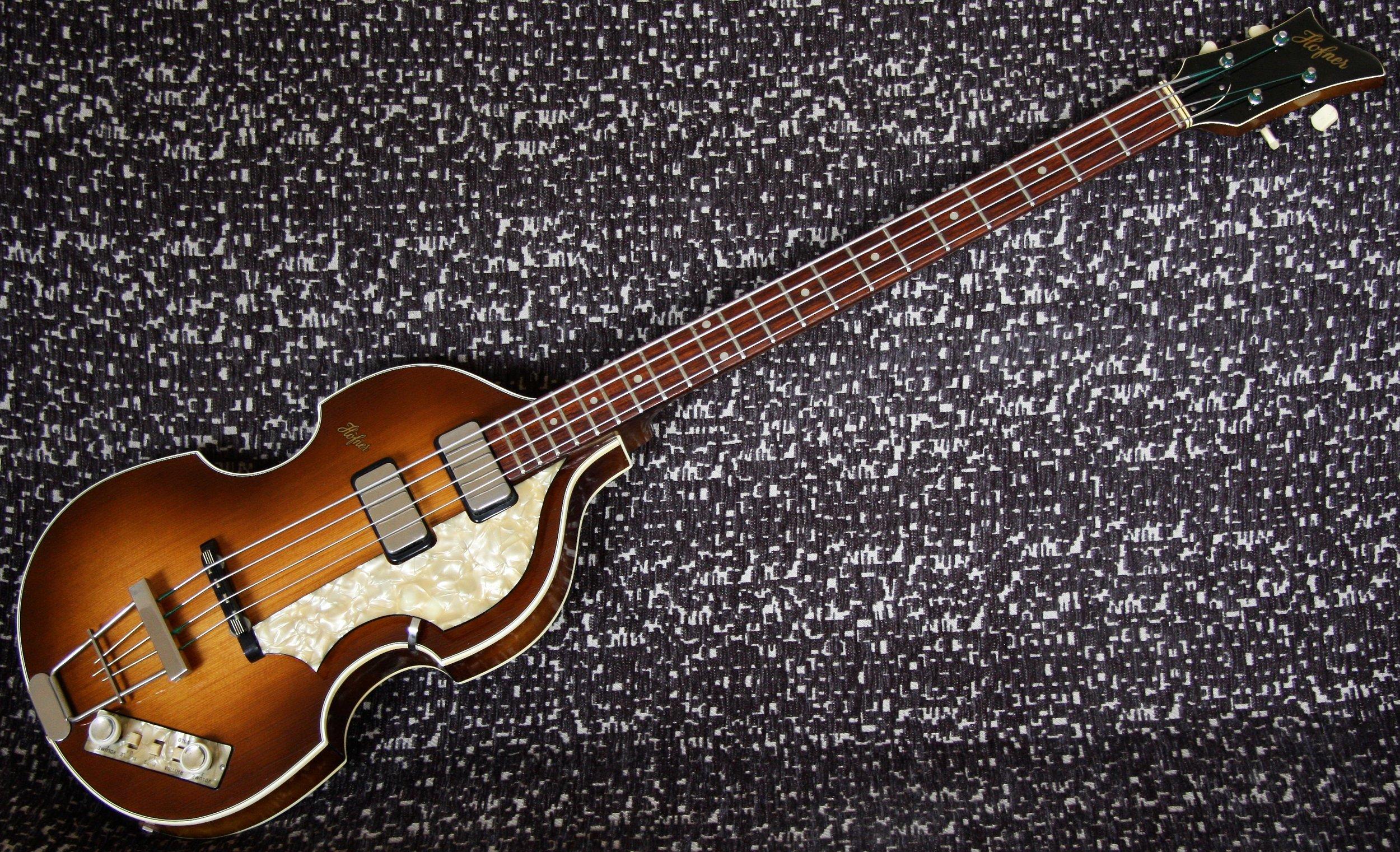 1961 Hofner 500/1 Bass
