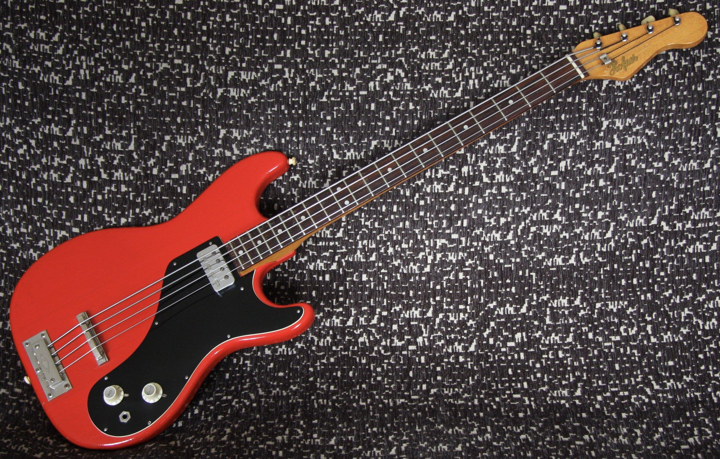 1963 Hofner Professional Bass
