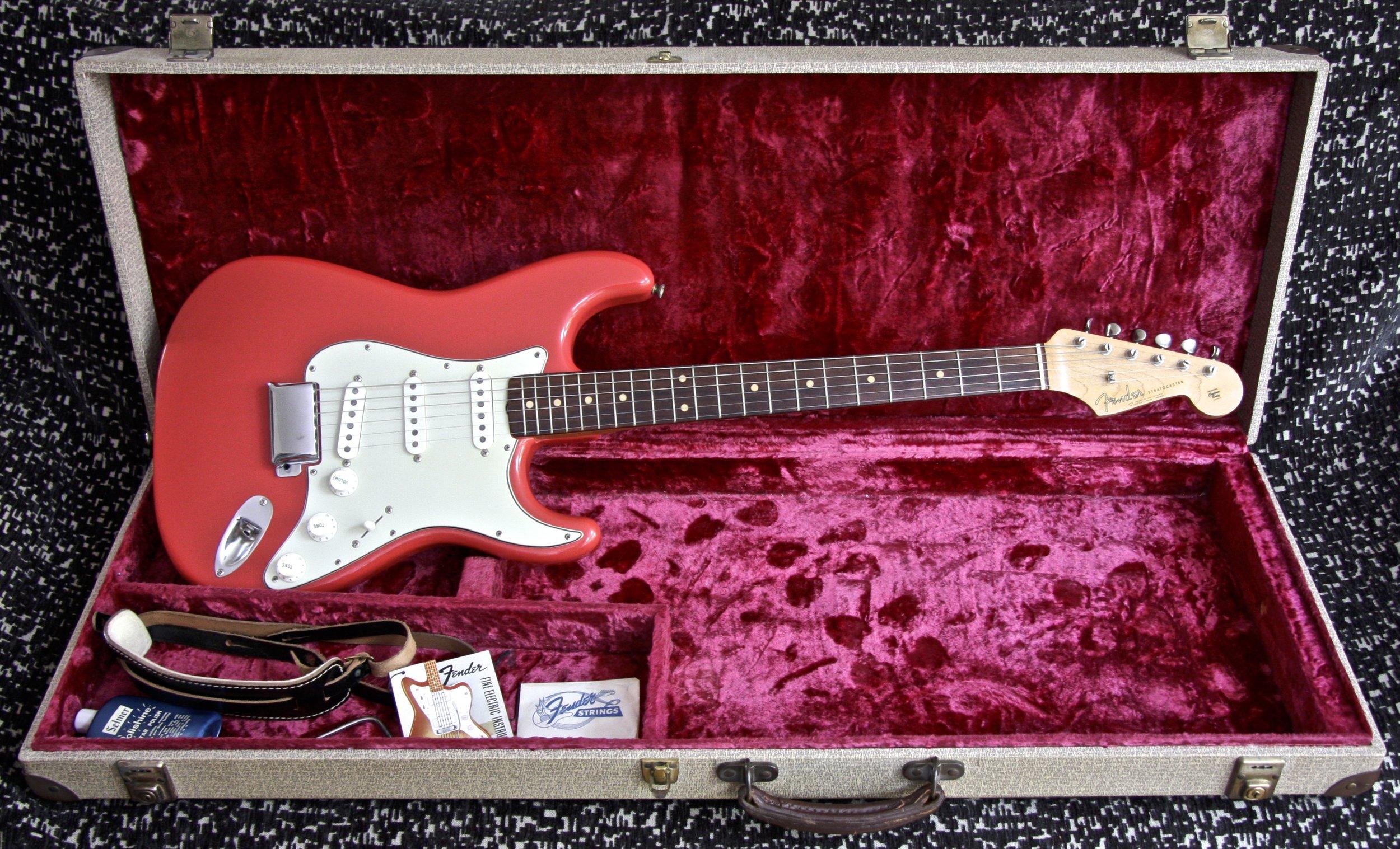 1963 Fender Stratocaster Fiesta Red