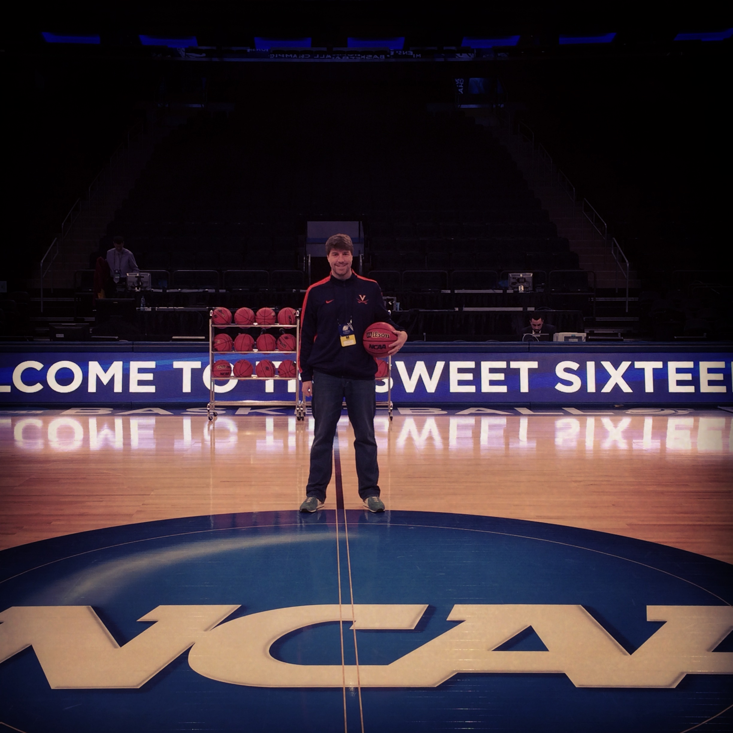 Madison Square Garden for the Sweet Sixteen