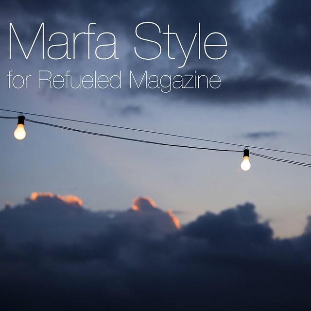 @gustavfoto #marfa #filmfestival #photographer #blg #brucelevingroup #refuledmagazine
