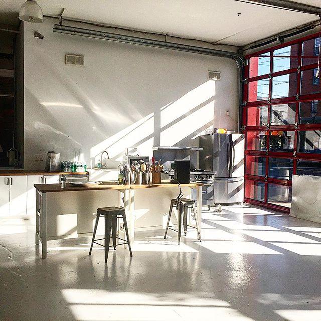 Firehouse East/ kitchen/Hudson River Studios  #morninglight #foodshoots #onsitechefservice