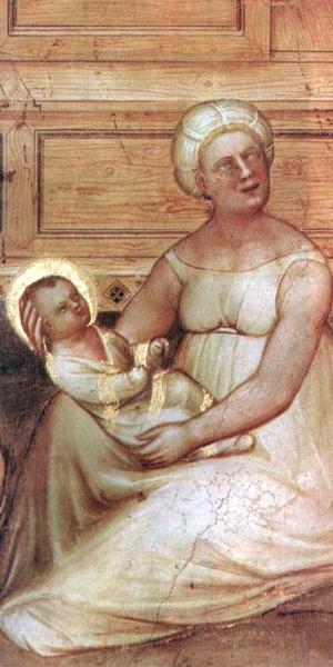 Sleeveless Shift Giusto de Menabuoi, Baptistryto the Duomo, Padua, 1376-7