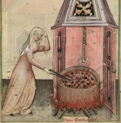 Tacuinum Sanitatis (Paris MS), f55v