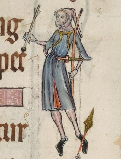 Luttrell Psalter, f45r