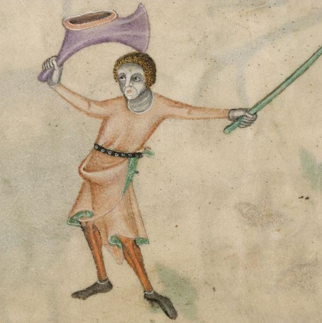 Luttrell Psalter, f169v