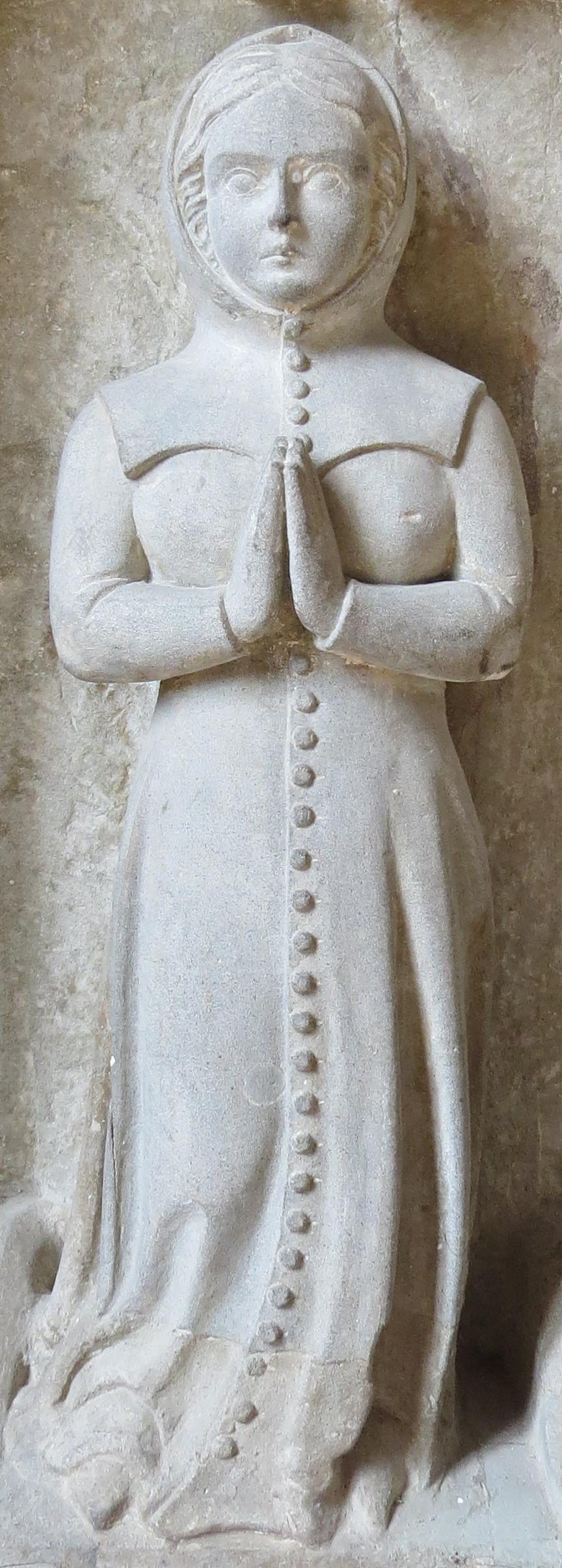 Switzerland La Sarraz - Chapelle St Antoine 1390 Kirtle Gown & Hood 2