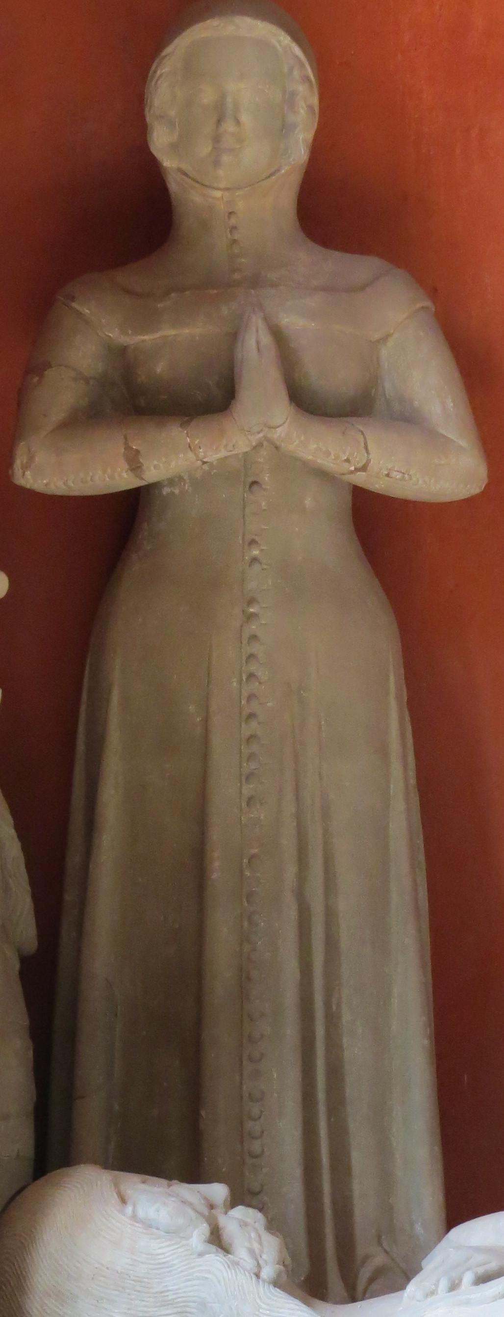 Switzerland La Sarraz - Chapelle St Antoine 1390 Kirtle Gown & Hood