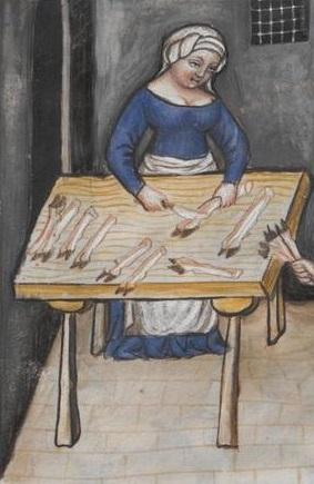 Tacuinum Sanitatis (Vienna MS), f78r - Turban