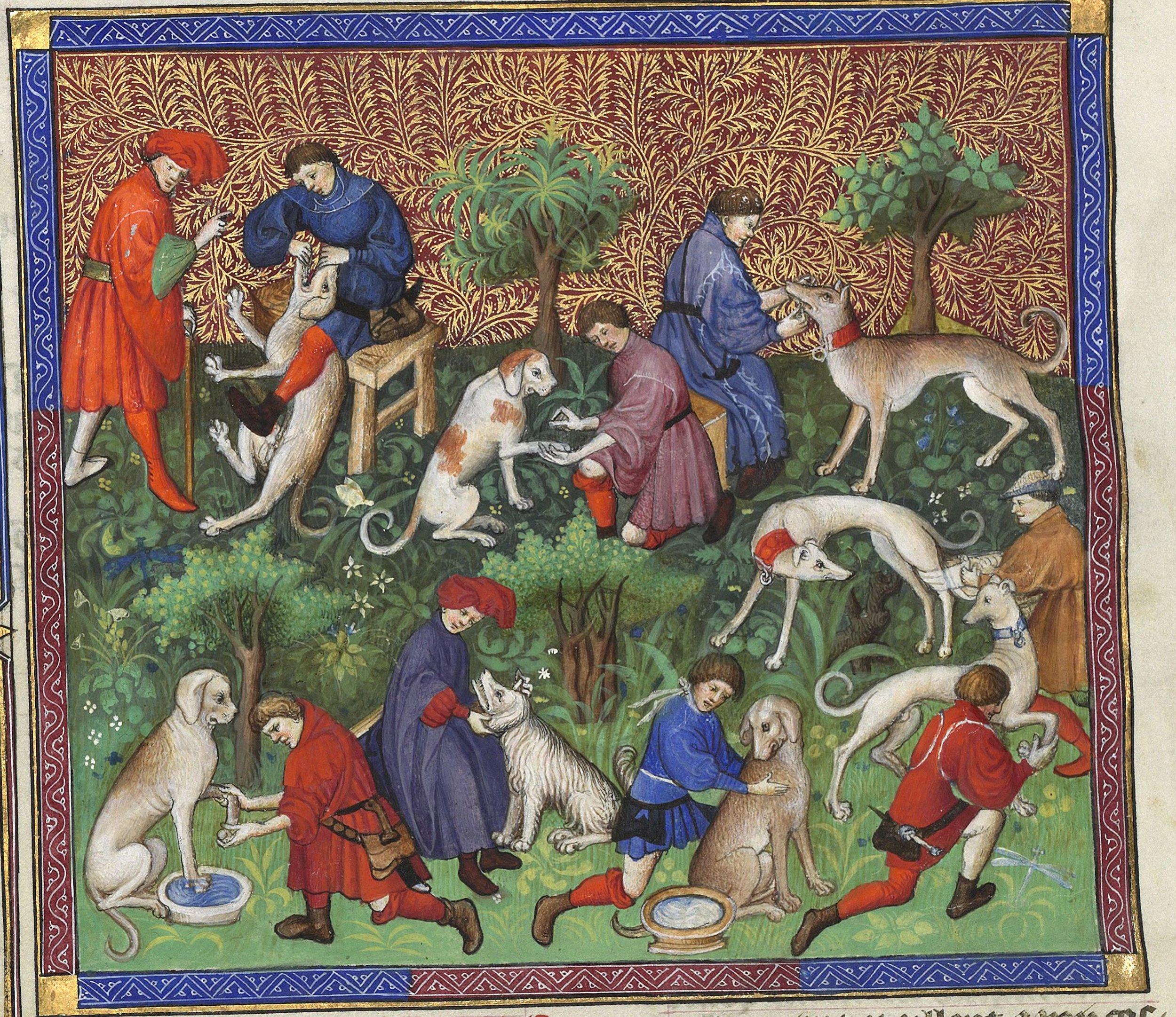 Gaston Phoebus (BNF 616), f40v