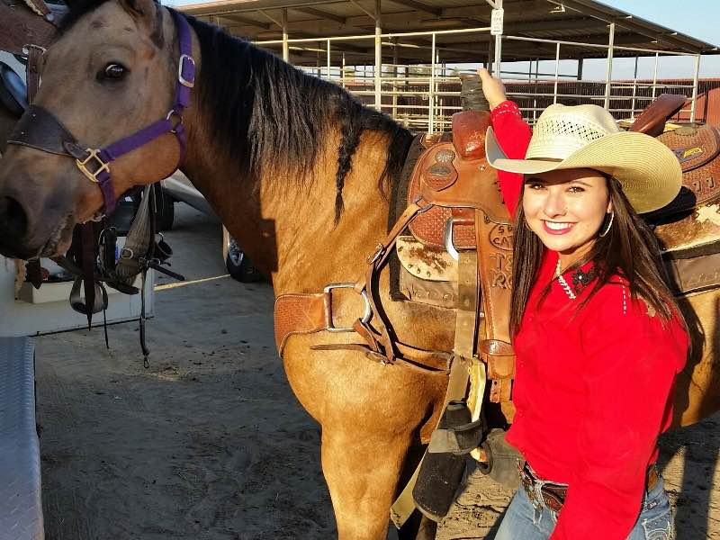 My Cause Apparel Cowgirl and Fashionista - Brittany Dias  Ropers Sports News  - July Issue