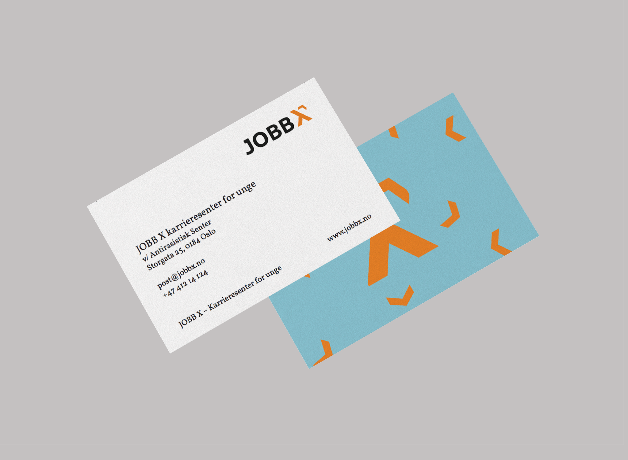 Copy of JOBB X - Visuell profil
