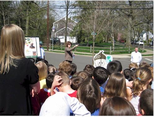 Arbor Day 2009 Willard Elementary School, Ridgewood, NJ Installation of Crimson King Maple.