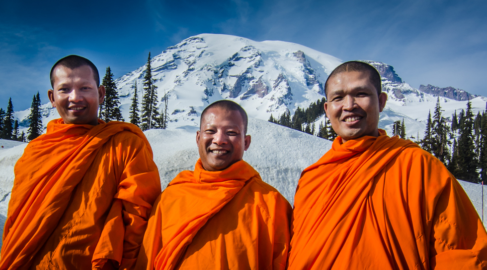 Monks in Paridise