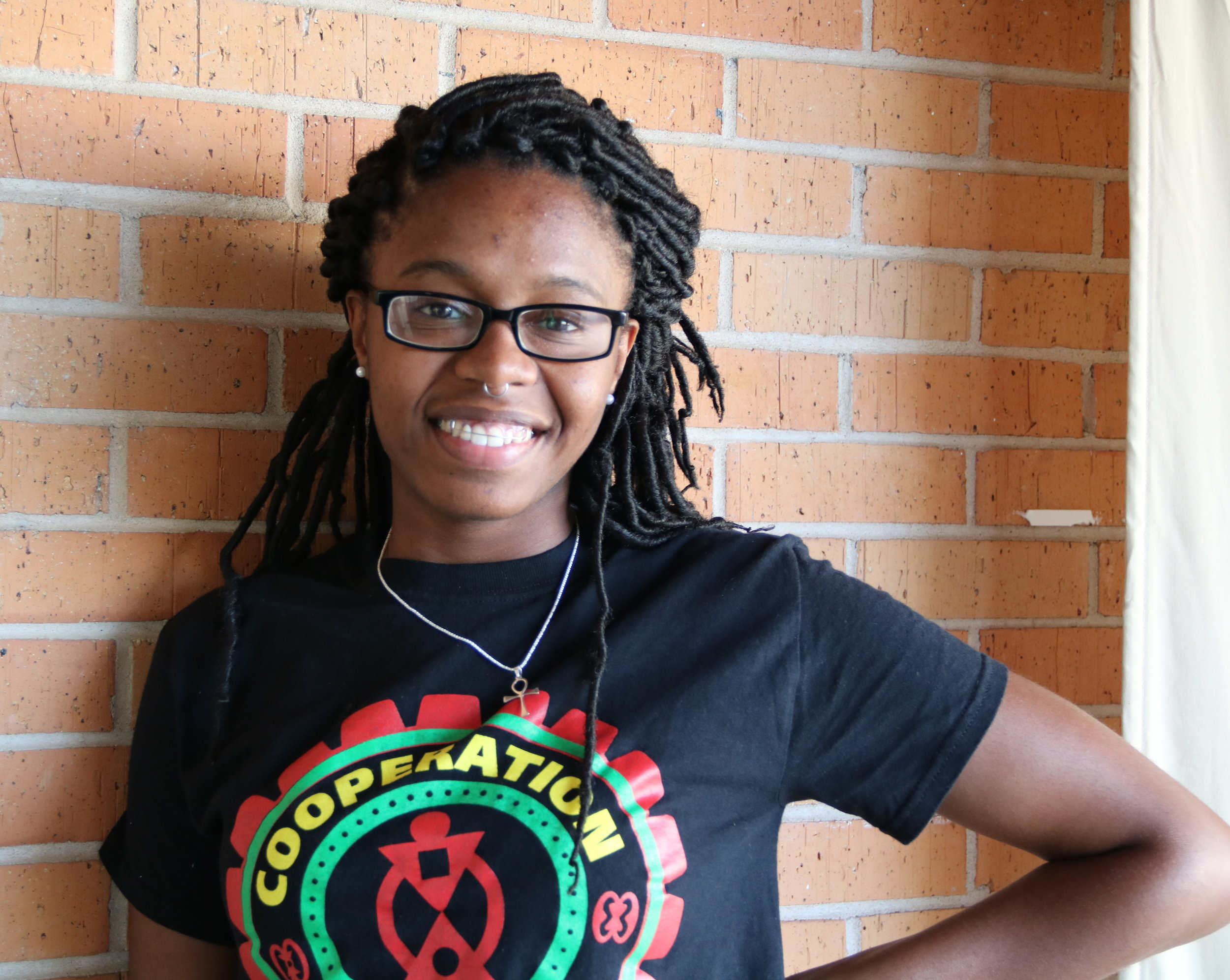 AMALYA LIVINGSTON IS ONE OF OUR FAB LAB INTERNS IN COMMUNITY PRODUCTION WITH INCITE FOCUS IN DETROIT MI.
