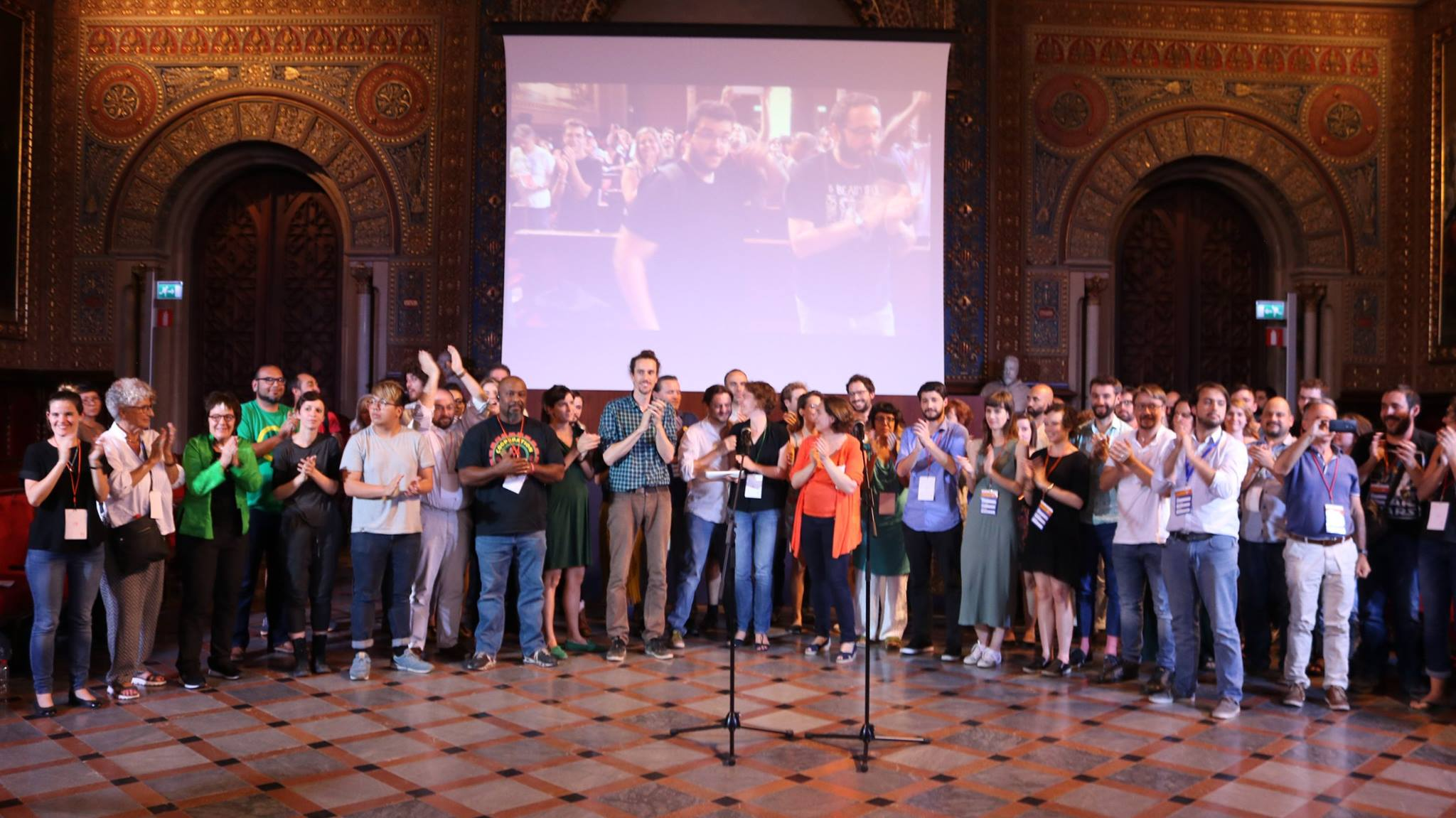 Cooperation Jackson at the Fearless Cities conference in Barcelona, Spain in June 2017.