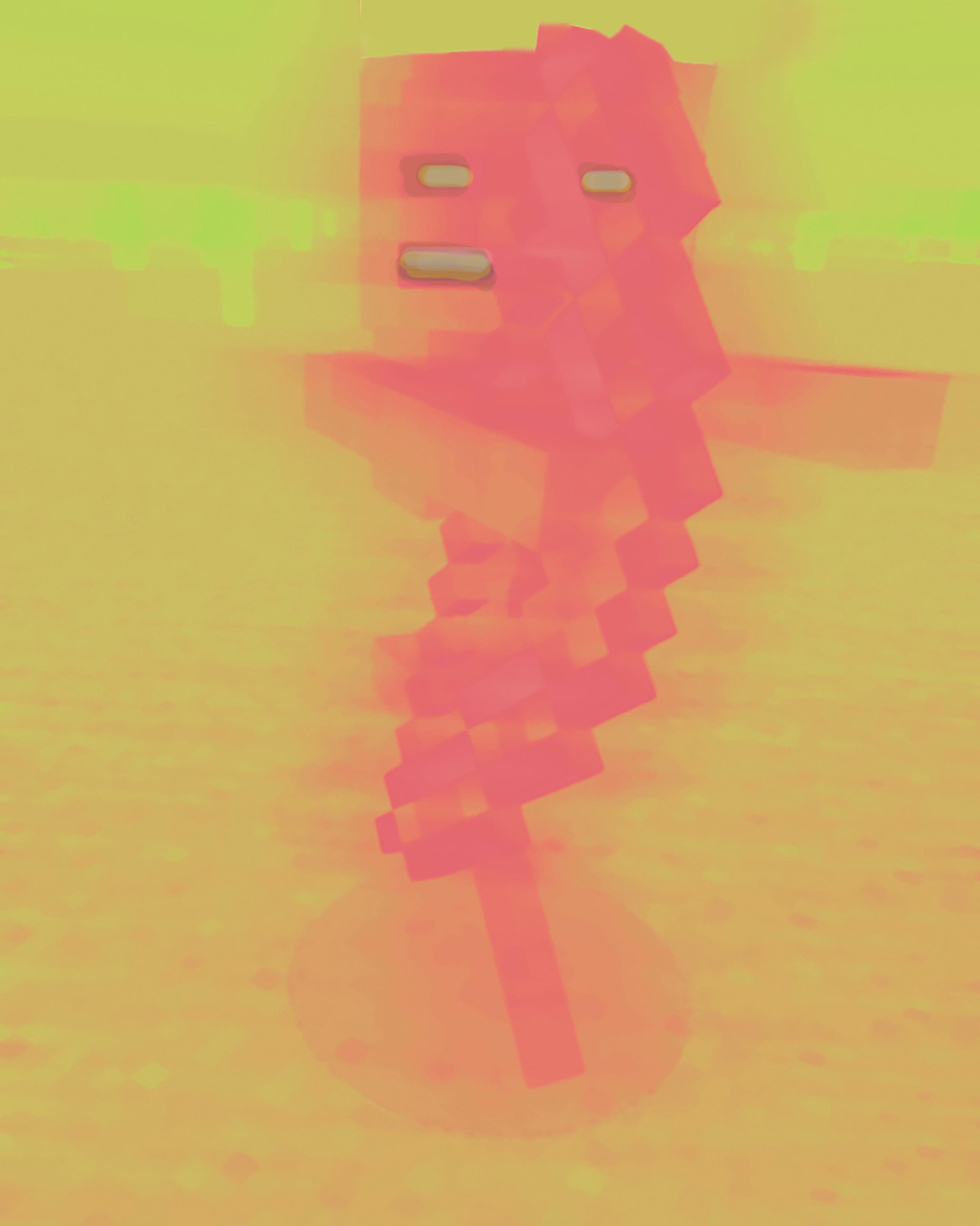 "Glimmer Skeleton 11"" x 14"" Inkjet on Fujifilm deep matte paper, mounted 2015  Edition of 3"