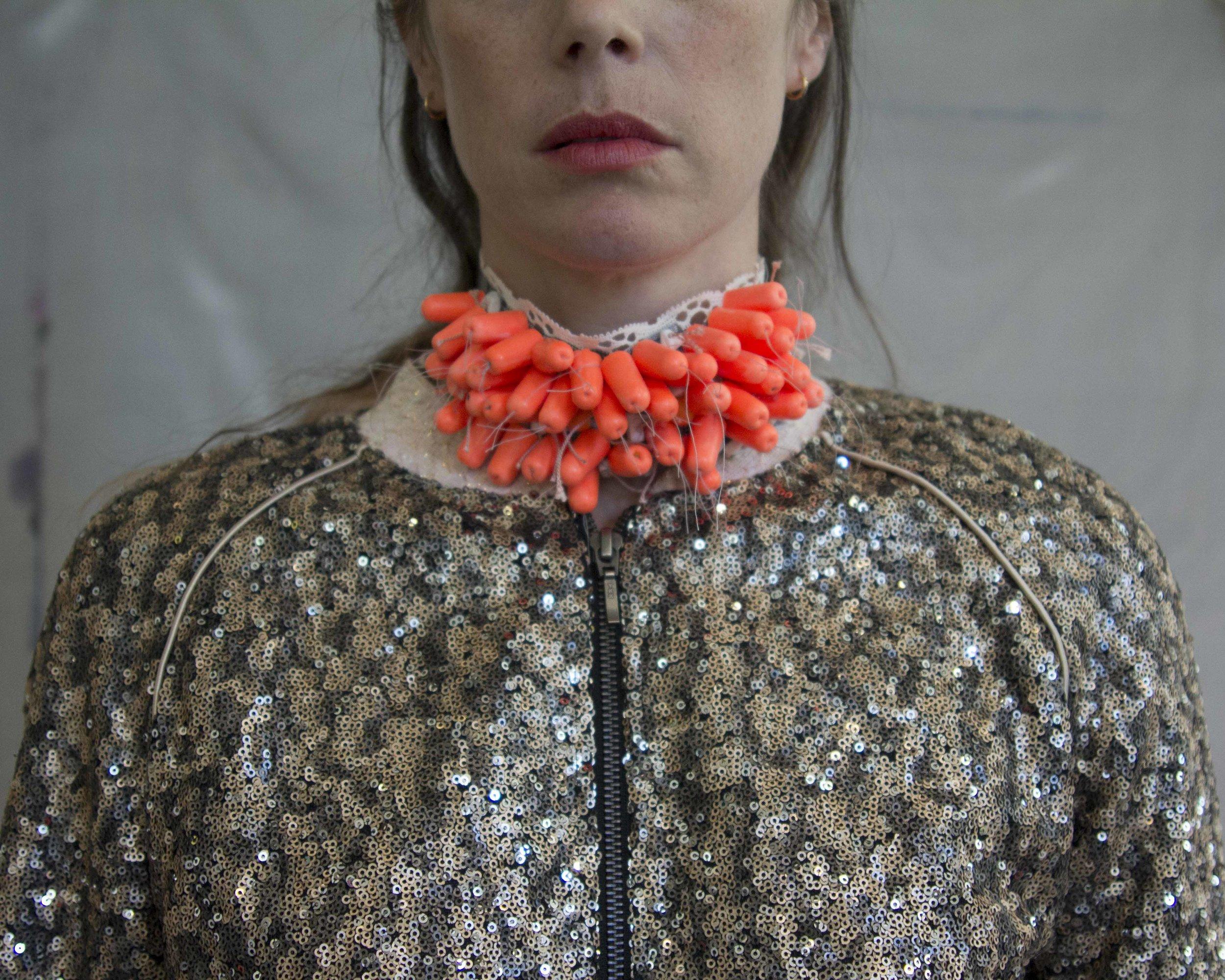 Dissent Collar #6 (sequin bomber) 2017