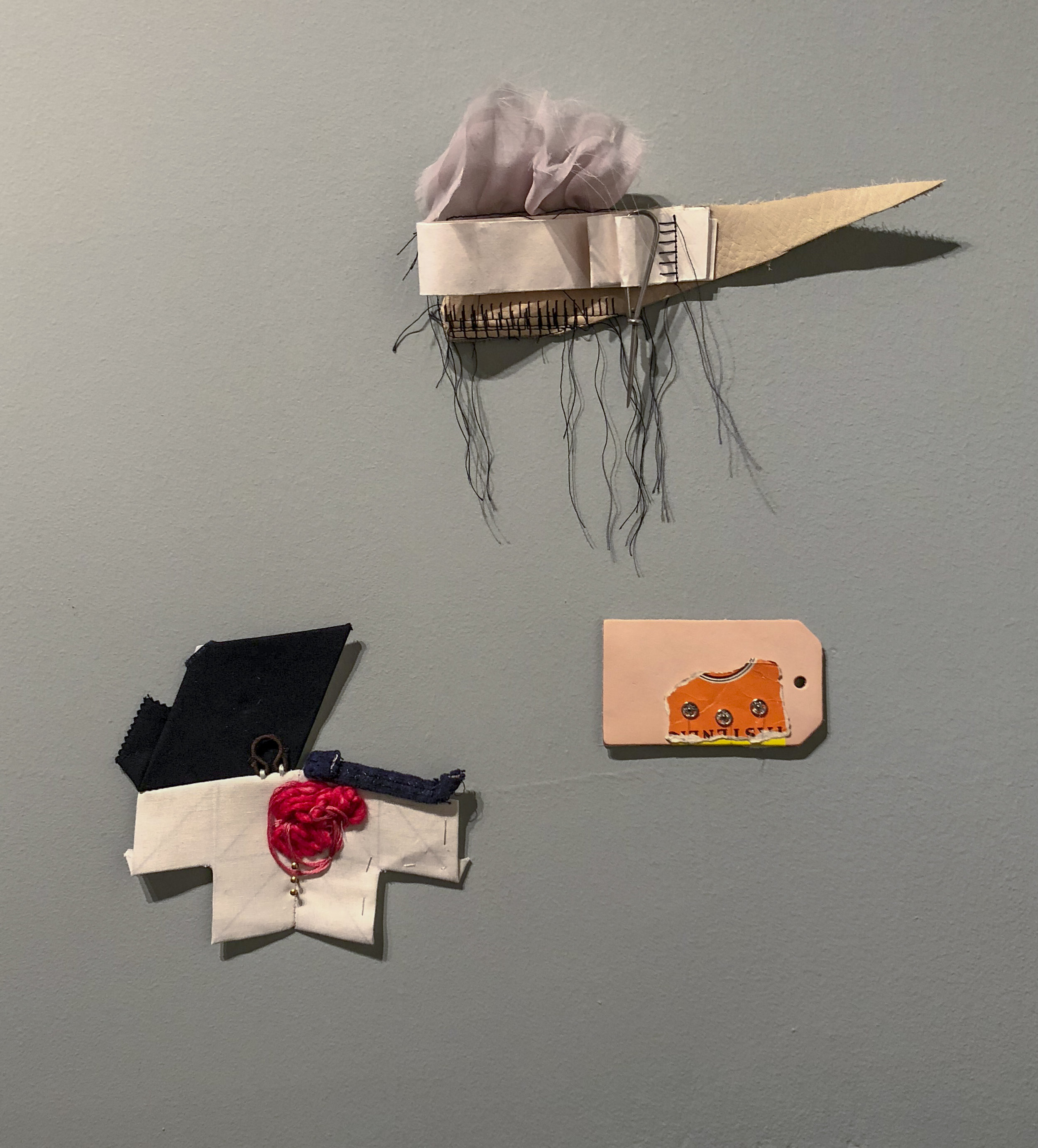 Copy of Clockwise from top: Ruffle + Poke; Label + Snap; Thread + Patch