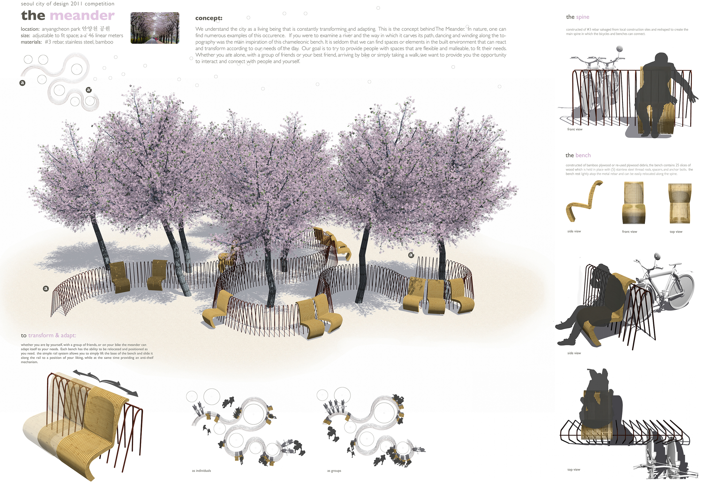 Honorable Mention,   Seoul Public Design Competition 2011