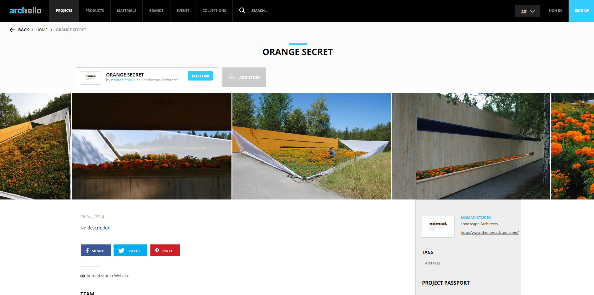 Archello.     Orange Secret