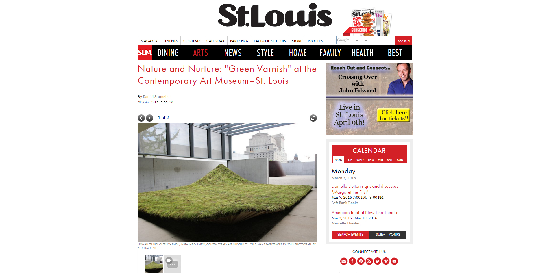 St. Louis Magazine.   Green Varnish