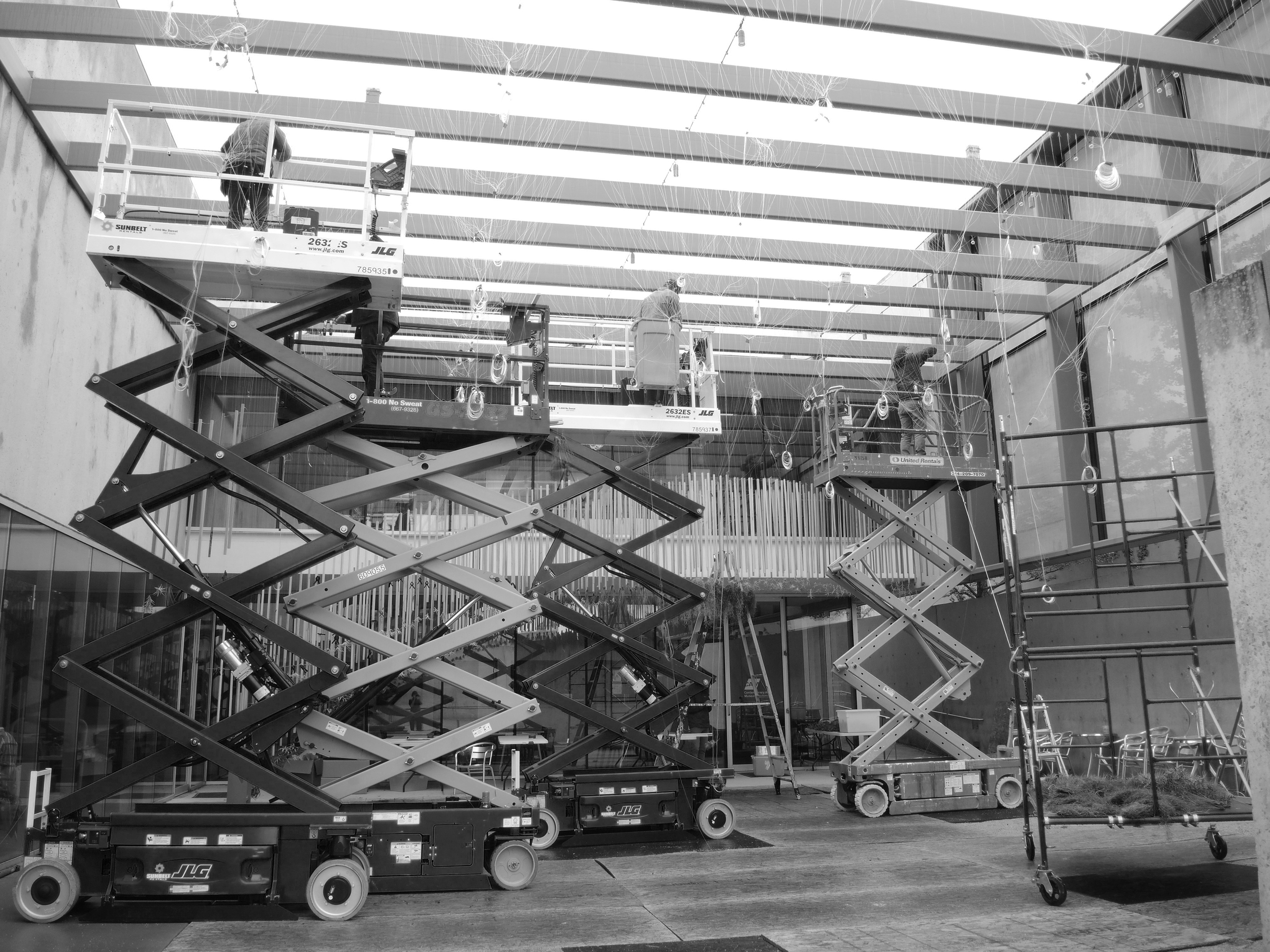 Installation team.