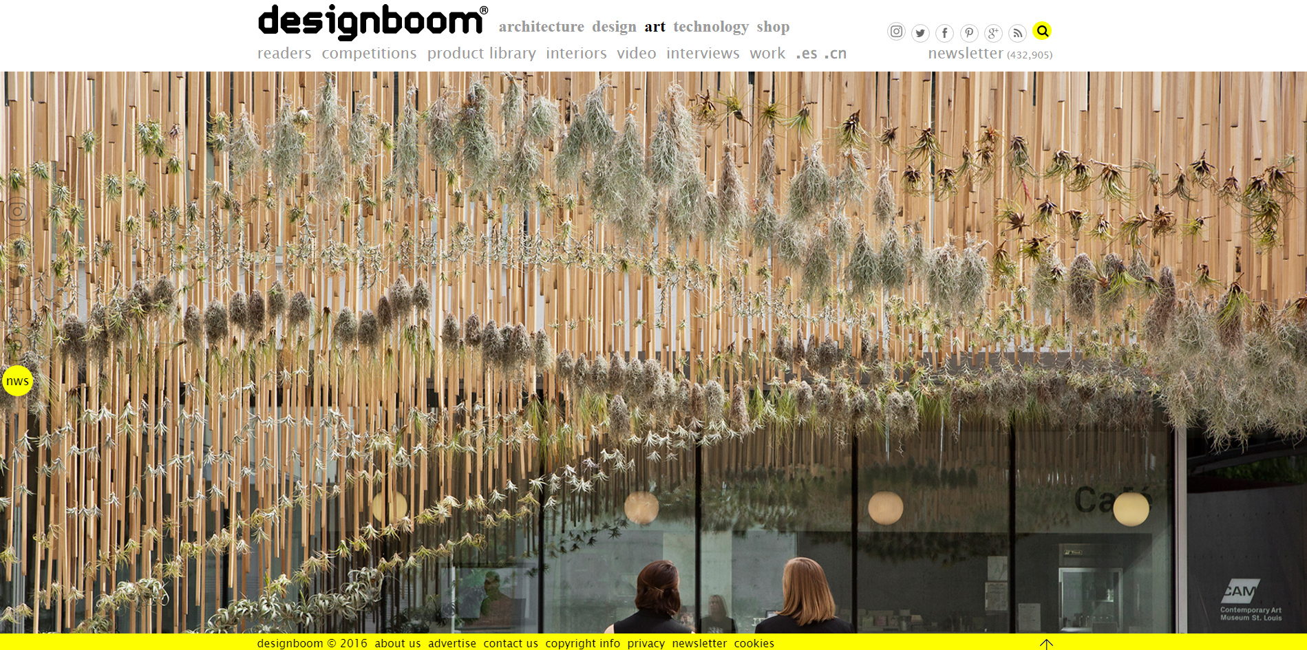 design boom.   Green Air