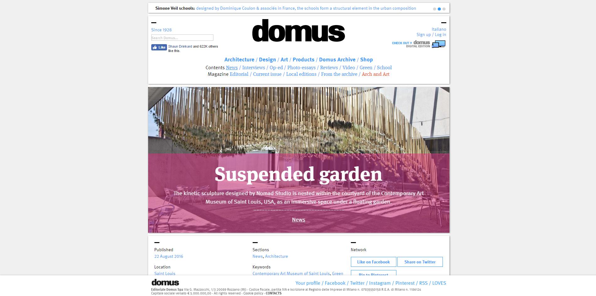 Domus.  Green Air