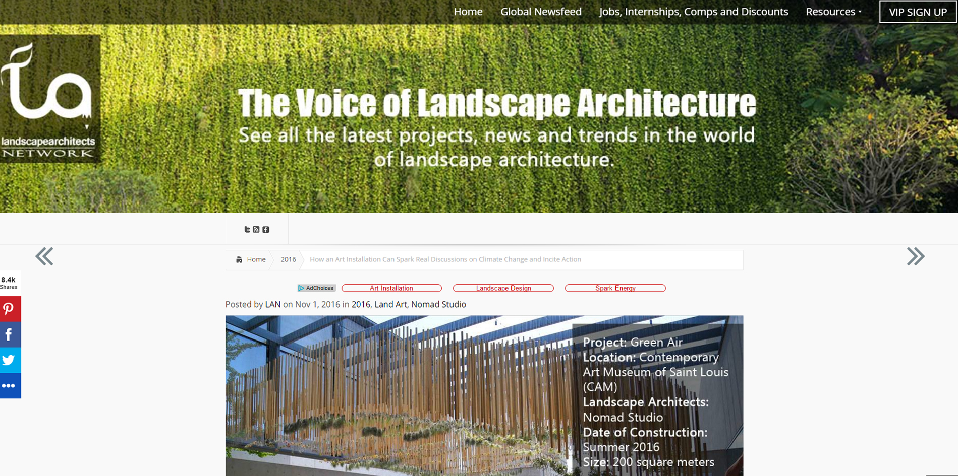 LandArchs.     Green Air