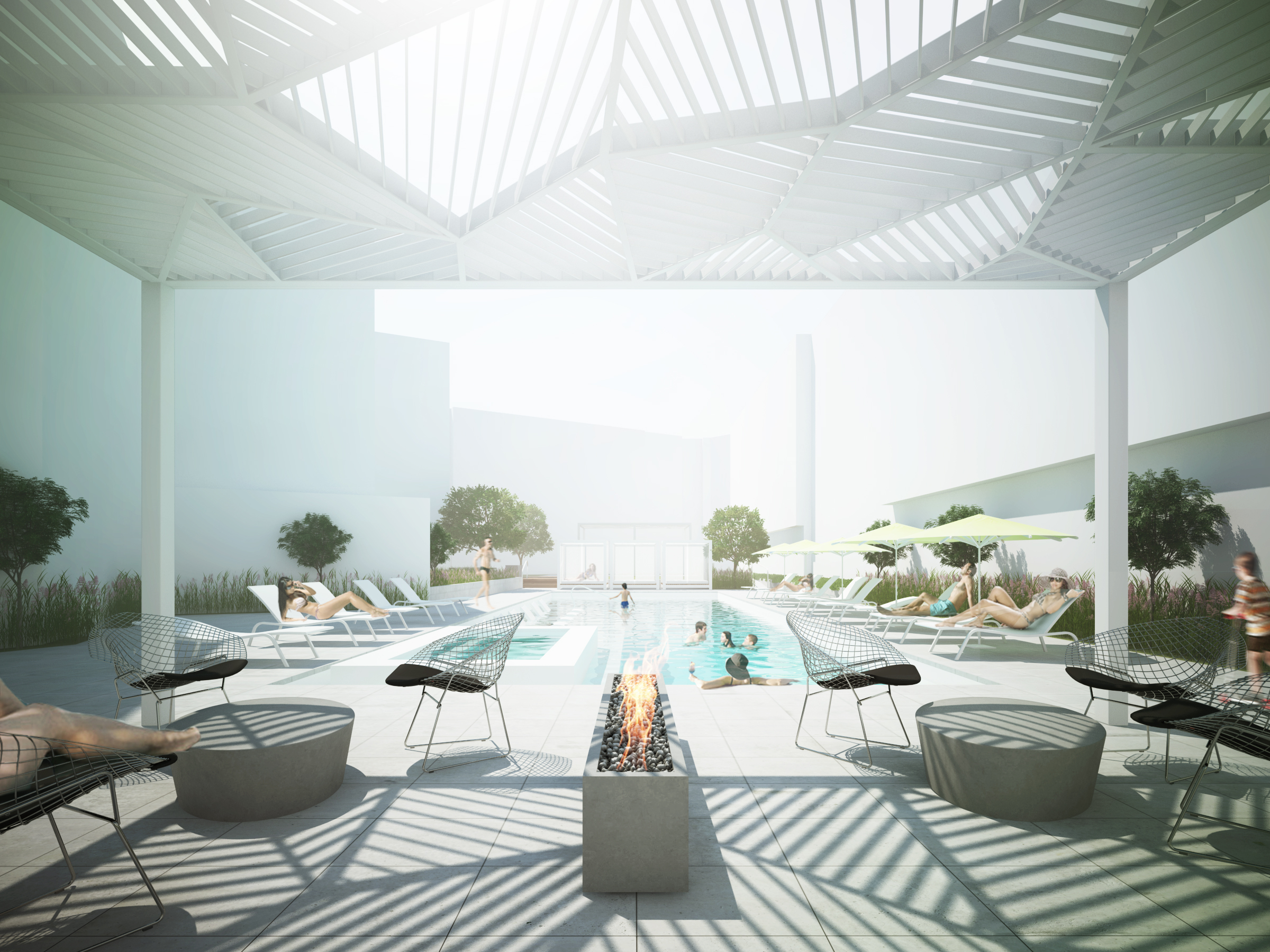 Pool Court - Canopy