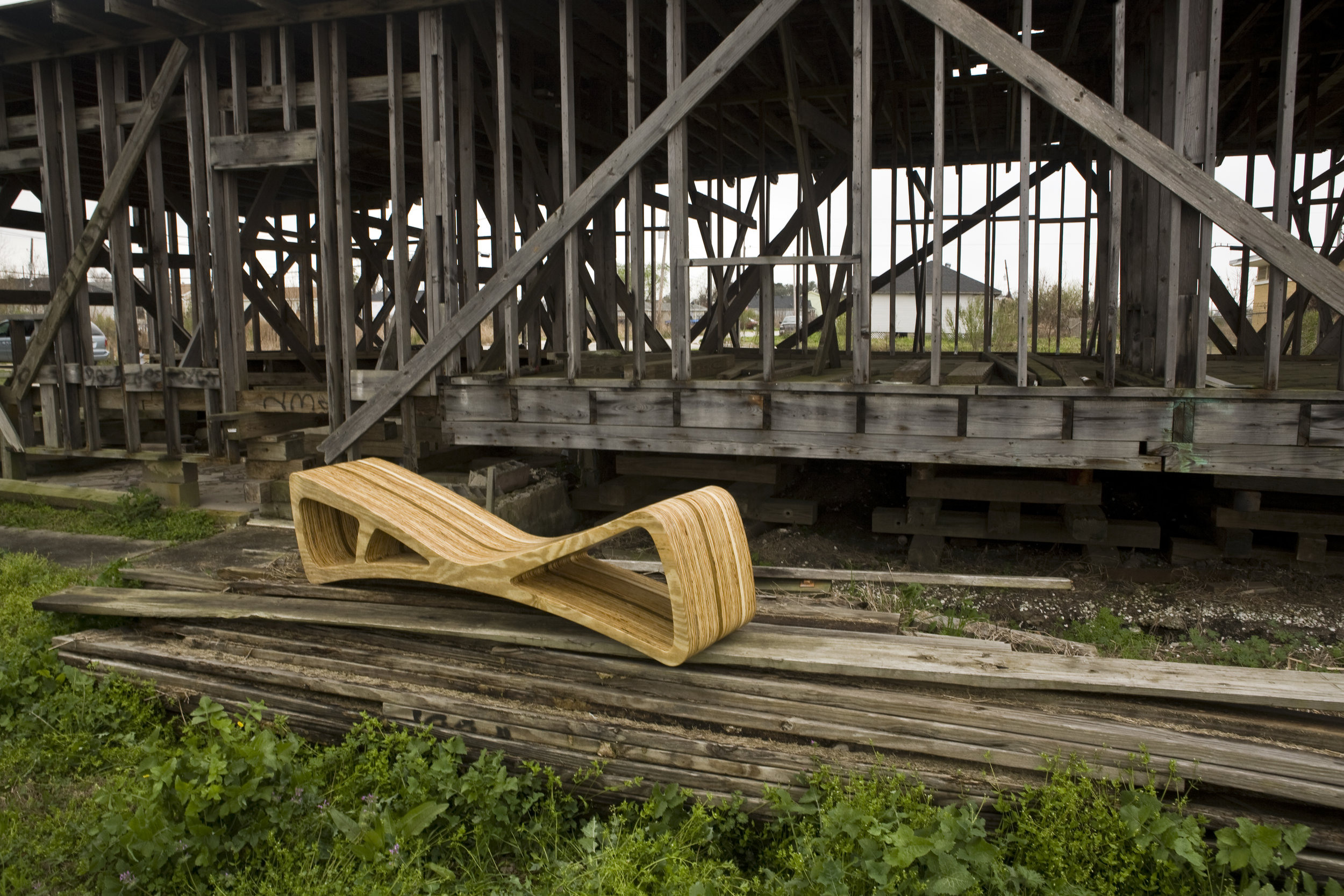 Bone Bench. New Orleans, LA