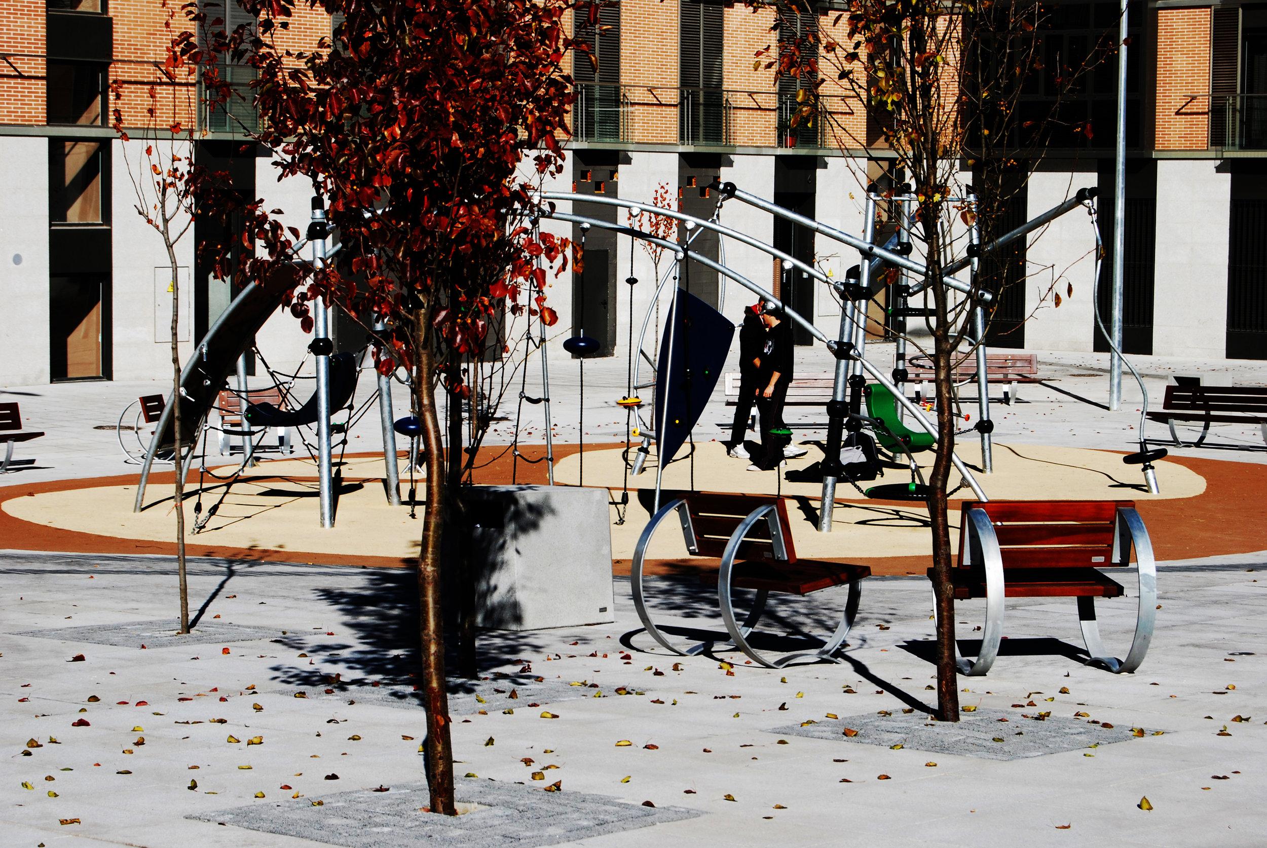 Plaza de las Carmelitas. Guadalajara, Spain