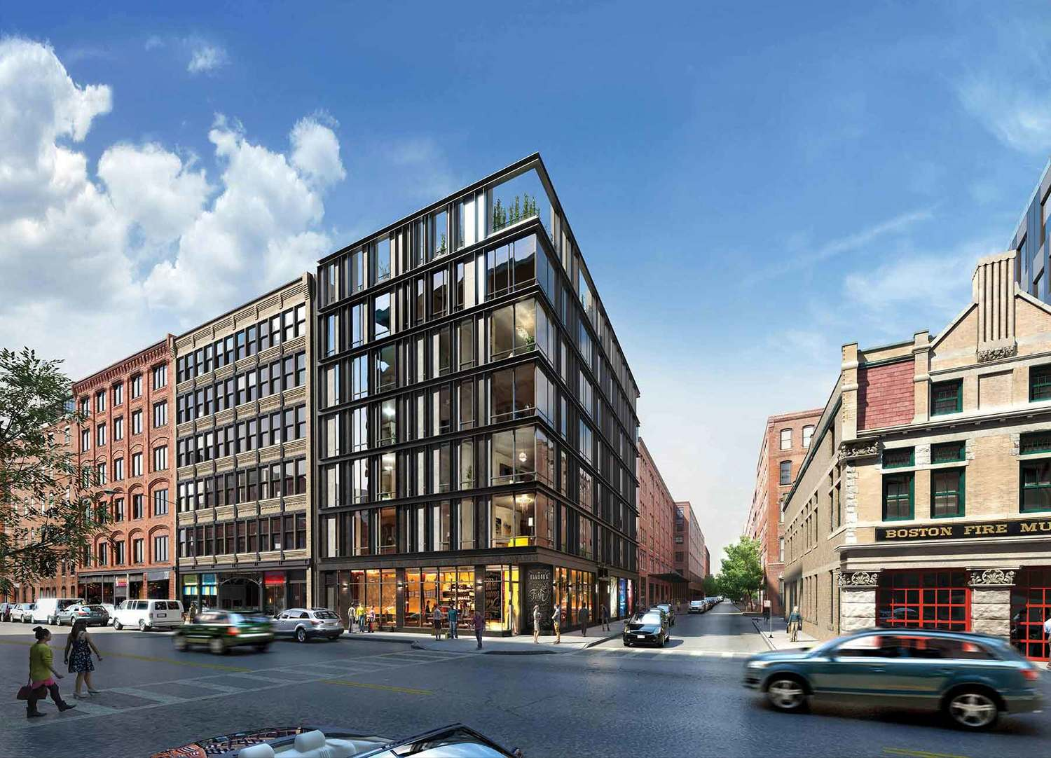 DEVELOPMENT ON HIGH-END FORT POINT CONDOS EXPECTED TO START IN JUNE - TCR Development is gearing up to start construction this summer on 10 Farnsworth, an ultra-luxury boutique condominium project at 338 Congress St. in Fort Point.