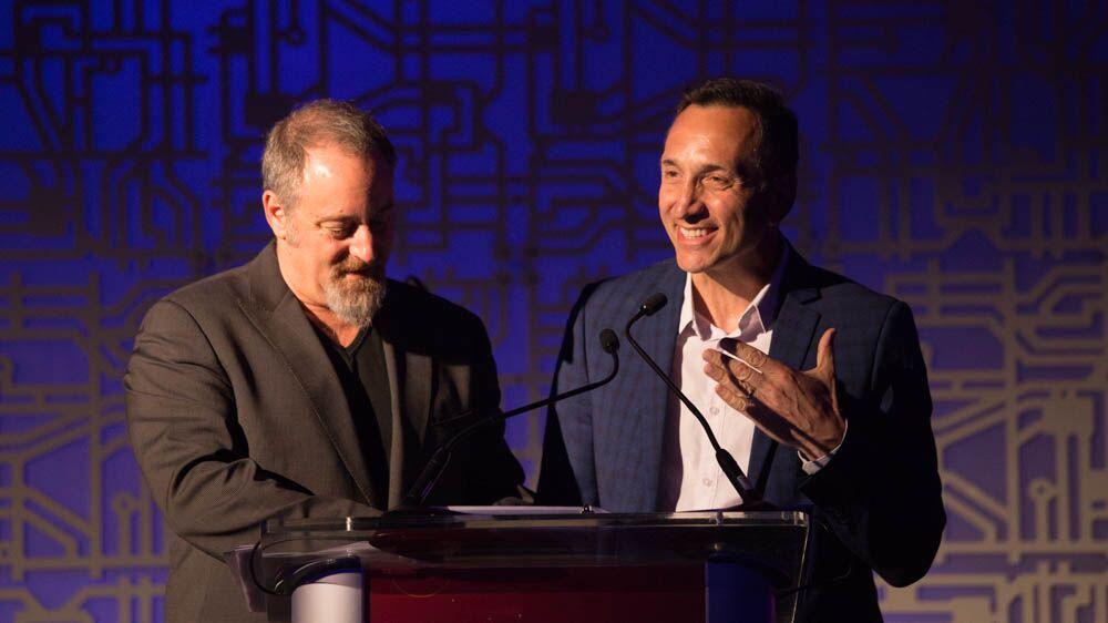 Rob Lanni & Eric Lawrence received the Entrepreneur Award.